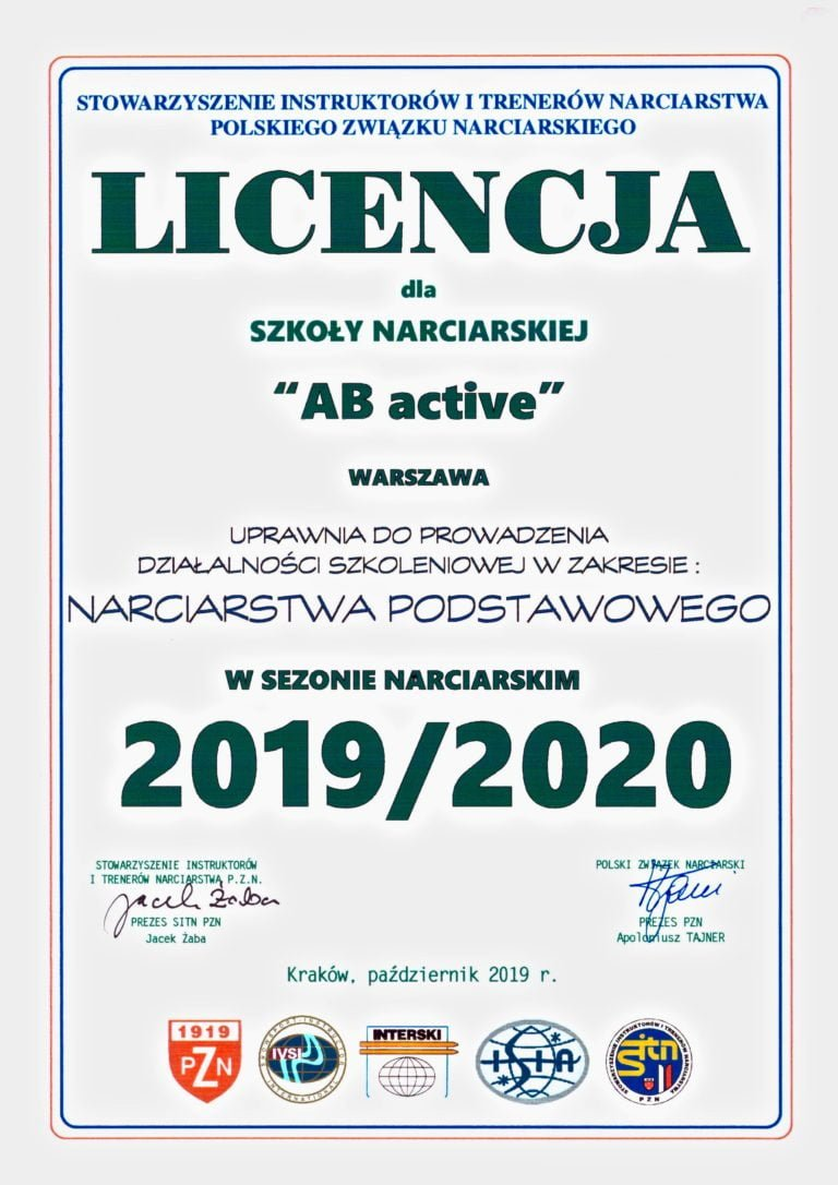 Licencja LSN AB Active 2019:2020